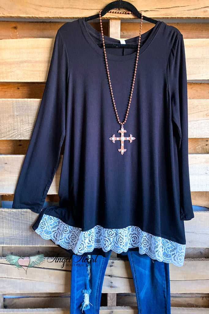 My Everything Tunic - Black