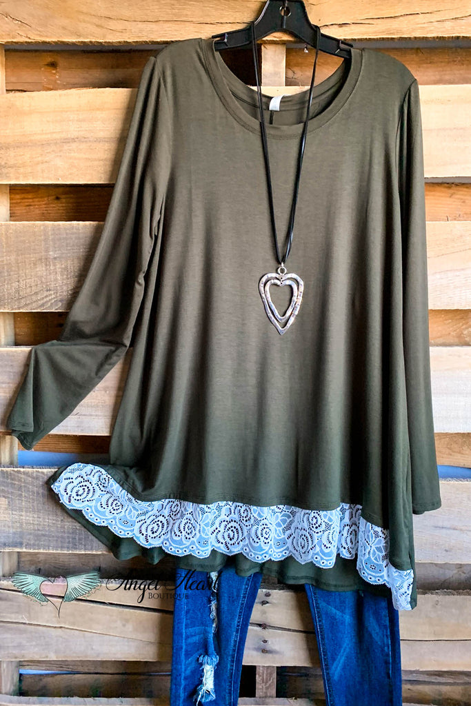 My Everything Tunic - Dk. Olive