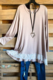 My Everything Tunic - Ash Mocha