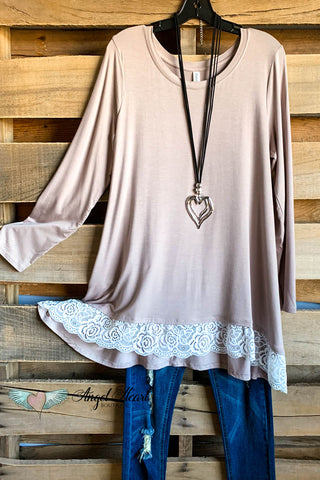 Slow Down Sister Tunic - White - SALE