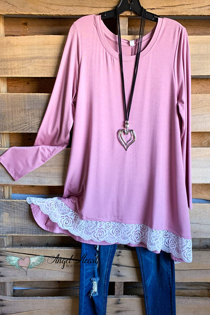 My Everything Tunic - Lt Rose