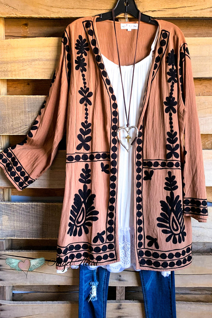 AHB EXCLUSIVE: MOONLIGHT CARDIGAN - MOCHA
