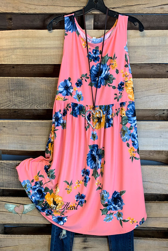 Shine So Bright Dress - Peach - SALE