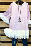 So Into You Tunic - Lavender
