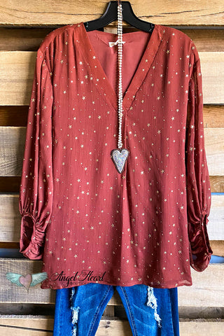 Slow Down Sister Tunic - Berry