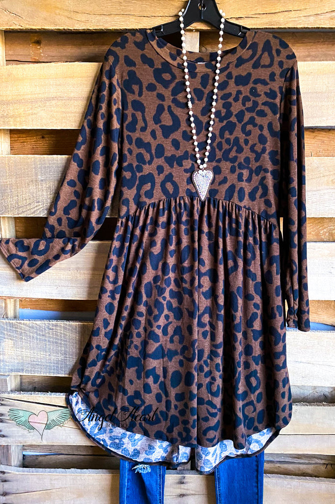 A Day Away Tunic - Brown