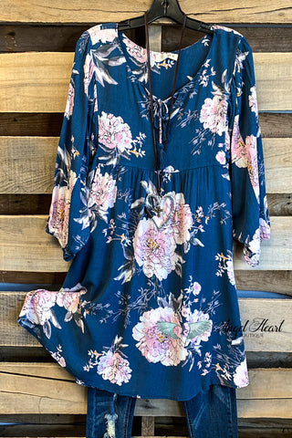 Taking My Time Dress - Navy - SALE