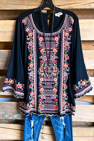 AHB EXCLUSIVE - Bohemian Babe Cardigan - Black