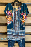 Shine So Bright Blouse - Teal