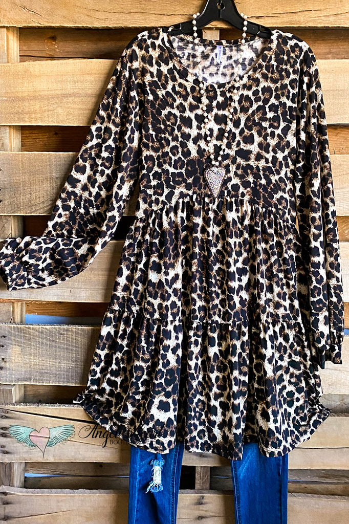 Driving Love Tunic - Leopard