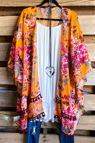 AHB EXCLUSIVE PAPARAZZI:  Woven Shawl - Pumpkin Mix