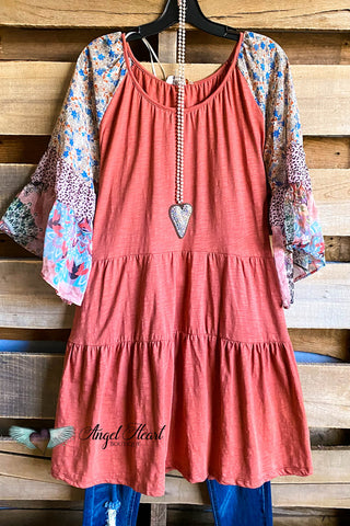 AHB EXCLUSIVE: Best Wish Tunic - Rust