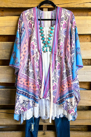 AHB EXCLUSIVE: More Than Just a Friend Lace Kimono - Brown