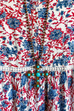 AHB EXCLUSIVE: Sunday Best Dress - Red/Blue