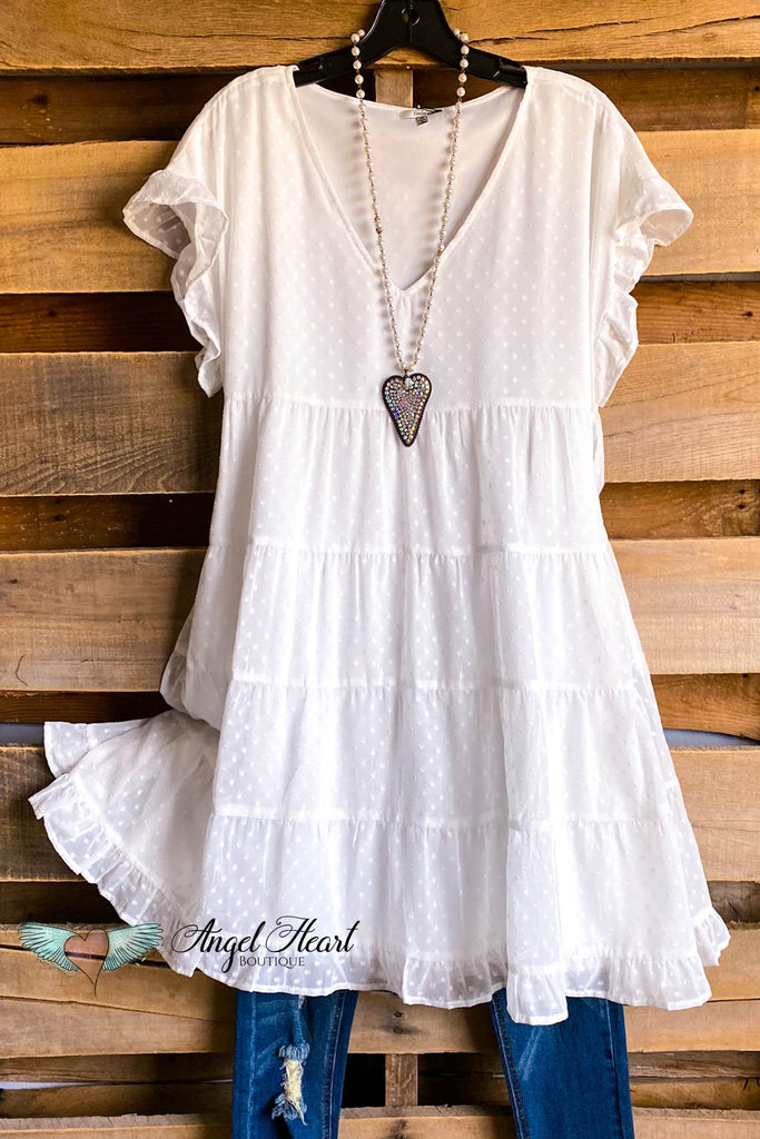 In My Heart Dress - Off White