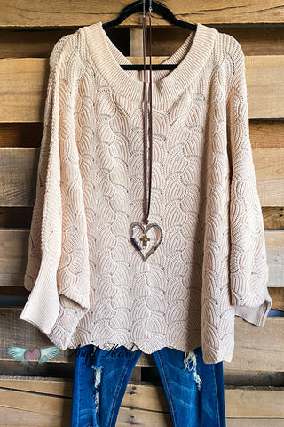 Go For It Crochet Cardigan - Big Rose