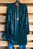 Any Night Dress - Teal