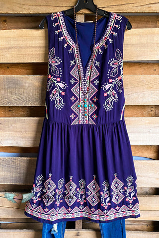 Catching Laughs Dress - Mauve - SALE