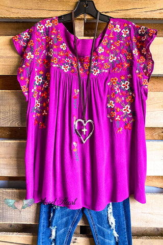 See My Love Tunic - Black