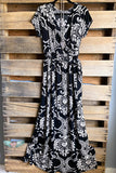 Remember Us This Way Maxi Dress - Black