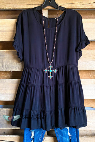 Angel Appearing Dress - Black