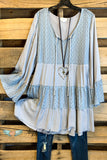 The Sunny Side Tunic - Grey
