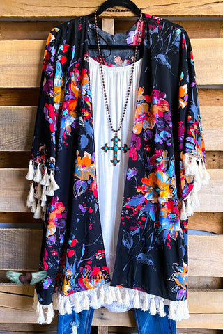 Expected Beauty Kimono - Sunset Mix