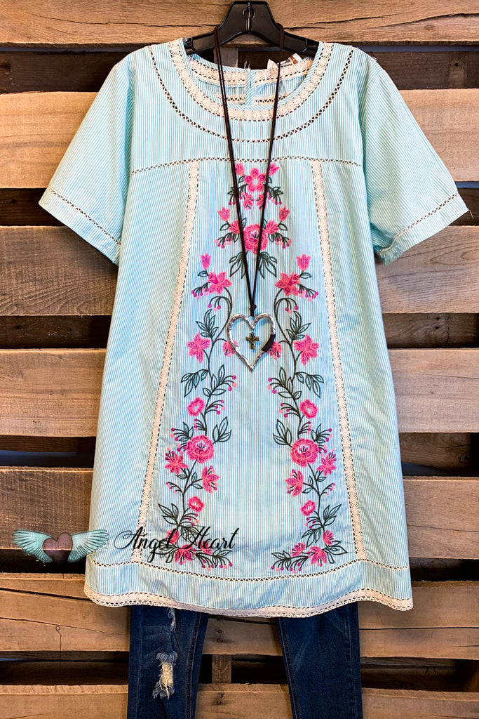 Heaven on Earth Dress - Mint