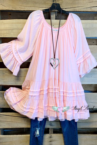 When The Stars Align Dress - Blush