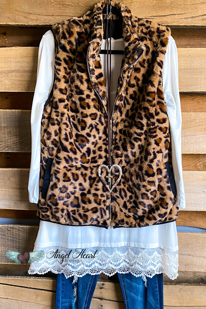 If I Stay Vest - Leopard