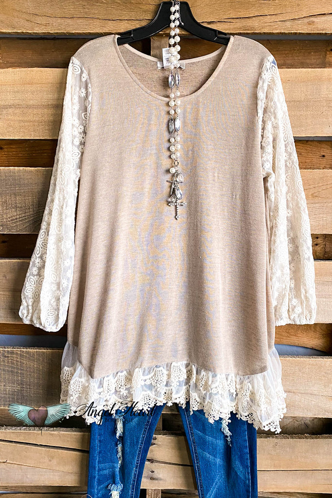 New Classic Knit Top - Taupe