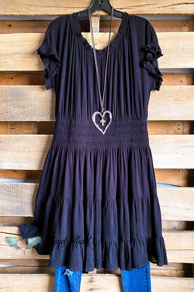 Secret Love Dress- Black