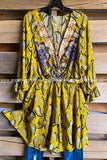 July Jams Dress - Golden Yellow
