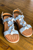 GOOD CHOICE: Super Comfy Sandals - Silver