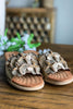 GOOD CHOICE: Memory Foam Sandals - Gold - SALE (Size 8.5 Left)