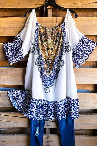 AHB EXCLUSIVE: Inspired Ways Tunic - Blue