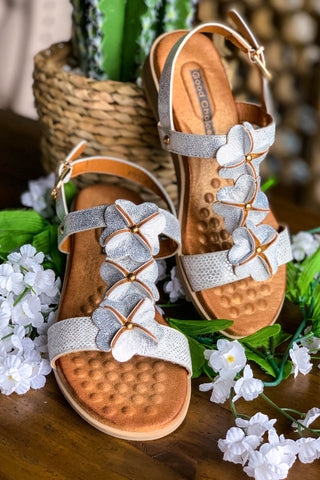 Gladiator Sandals - Tan - SALE (7 & 7.5 LEFT)