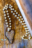Angel Of Music Necklace - Pearl & Rhinestones - RESTOCK COMING SOON