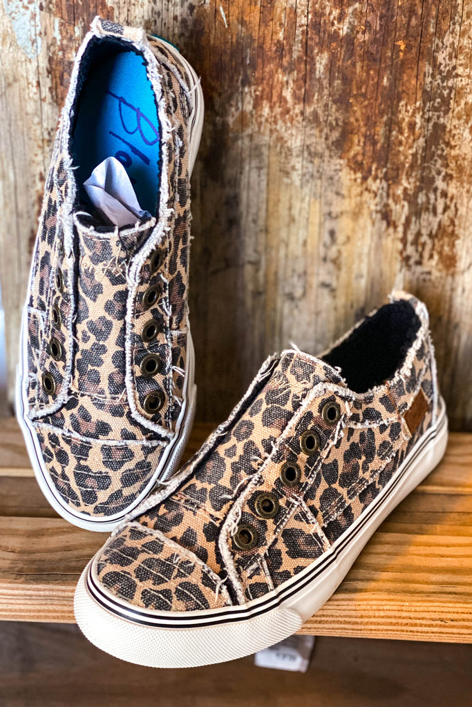 City Kitty Kicks - Leopard Canvas Sneakers