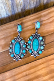 AUTHENTIC TURQUOISE STONE - Honest Praise Earrings
