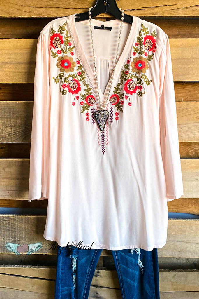 Love Like Crazy Tunic - Pink - SALE
