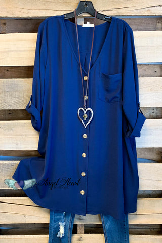 What a Beauty Long Duster/Kimono - Teal Mix