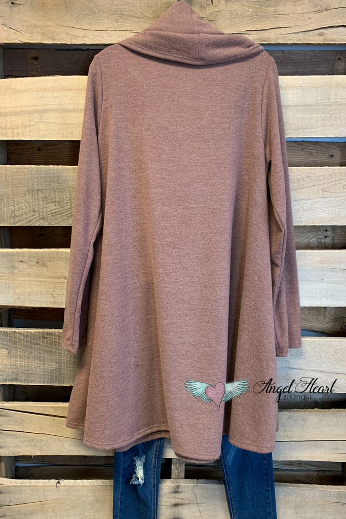 Know Your Path Tunic - Camel [product type] - Angel Heart Boutique