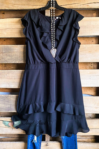 Material Love Dress - Black