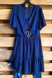Not Hard To Forgive Dress - Navy - SALE