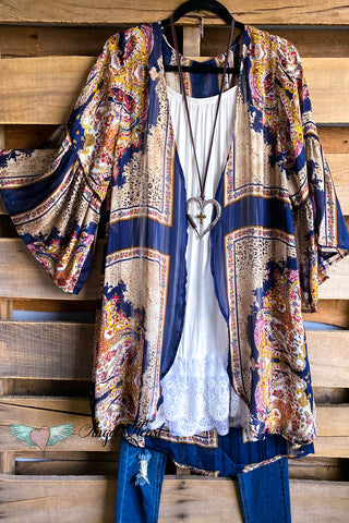 AHB EXCLUSIVE: Full Of Life Tunic - Kelly Print