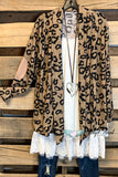 Quiet Grace Cardigan - Leopard