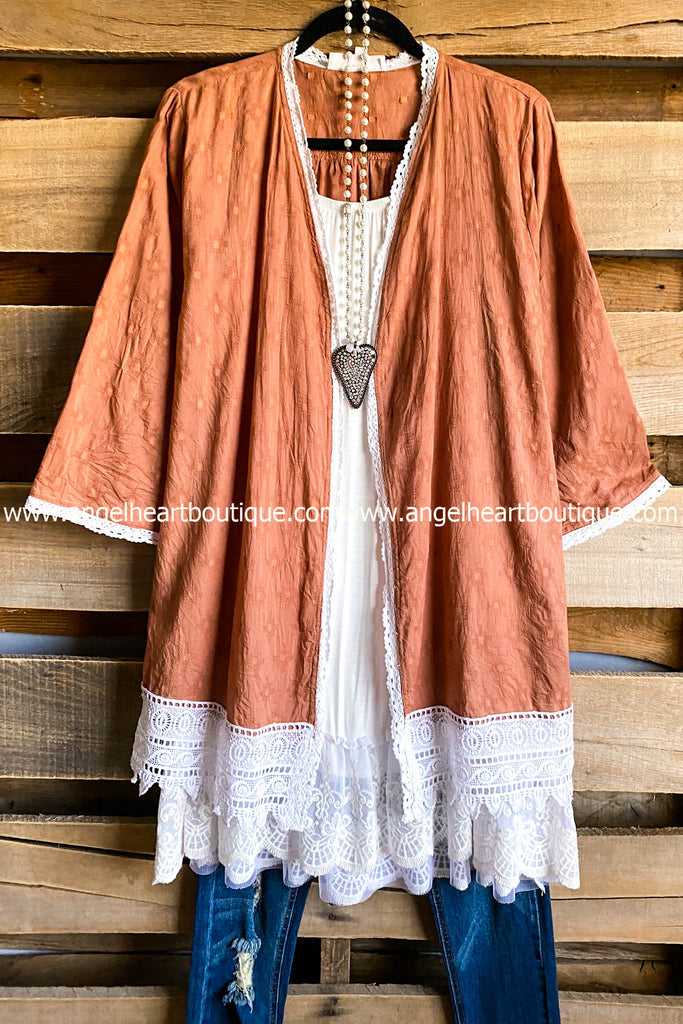 AHB EXCLUSIVE: Being Kind Cardigan - Lt. Brown - SALE