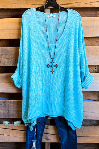 AHB EXCLUSIVE: Somebody Special Top - Teal/Turquoise
