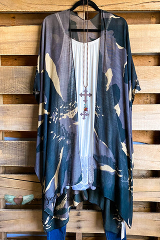 AHB EXCLUSIVE:  All That You Ever Dreamed Kimono - Navy